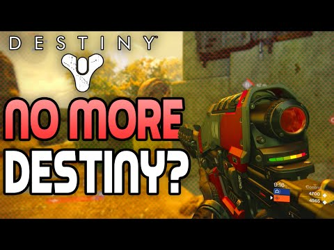 "No More Destiny?! - Destiny ""EXOTIC Gun Ice Breaker Sniper Gameplay"""