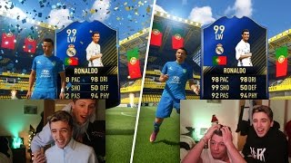 2 TOTY RONALDOS IN THE SAME PACK OPENING - FIFA 17
