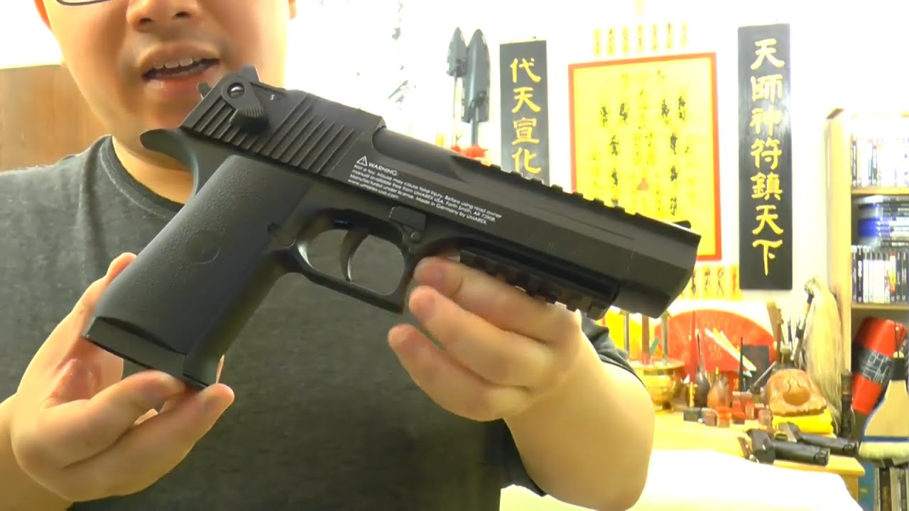 Umarex Desert Eagle Blowback Co2 Pellet Gun ( 177 Cal) Review and Shooting