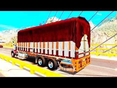 Camión Torton de Redilas | Puente Baluarte Bicentenario Rumbo a Mazatlán | México