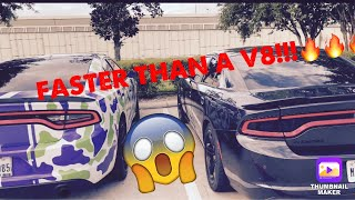 This V6 charger is FASTER than an RT