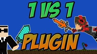 1vs1 Plugin Minecraft Bukkit 1.8 - 1.11 Spigot | German| | Tutorial Turnier | Server