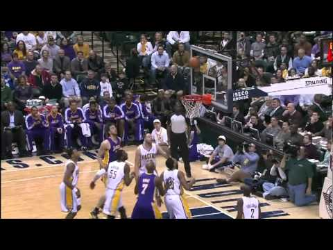 12-15-2010 - Lakers vs. Pacers - Team Highlights HD