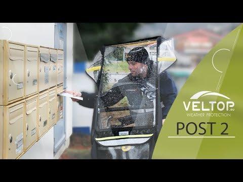 VELTOP POST - Protection pluie vélo La Poste