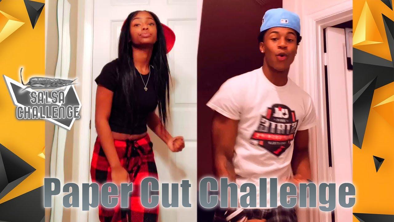 Paper Cut Dance Challenge TikTok Compilation #PaperCutChallenge Ooowwweee