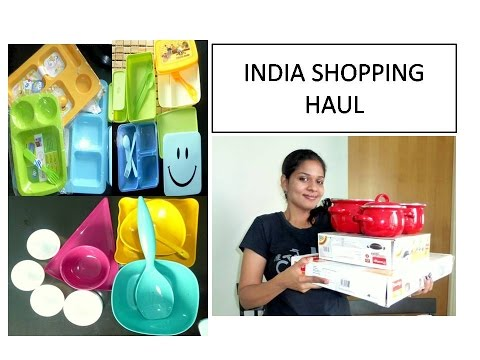 India Shopping haul | Kitchenware and grocery | Deeps Kitchen