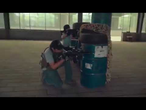 Shanghai Assassin's Gel Gun Corps 7.29 internal training activities video