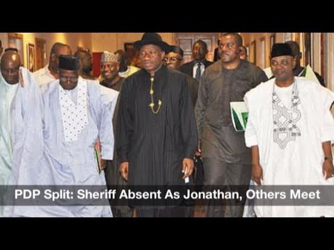 PDP Split? Sheriff Absent As Jonathan, Others Meet: Nigeria News Daily (18/07/2017)