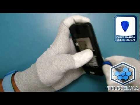 Como desmontar o Nokia C5-03 - TELECELULA
