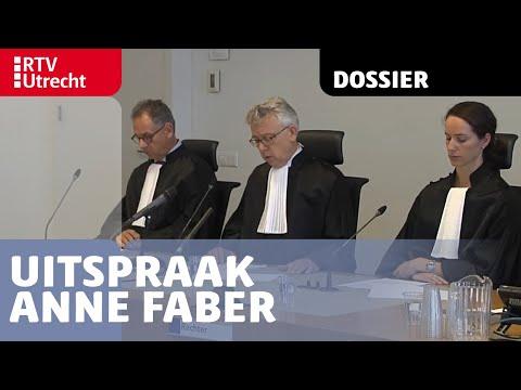 Uitspraak Anne Faber | RTV Utrecht