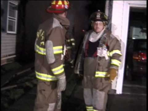 October 2001 Perry Township Garage Fire