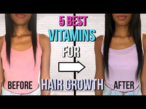 5 BEST VITAMINS FOR HAIR GROWTH