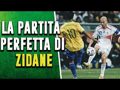 Quando ZIDANE UMILIO' Il Brasile Di Ronaldo, Kakà E Ronaldinho