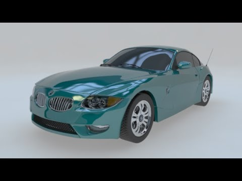 Maya Automobile Modeling 11: HDRI set up and Textures.
