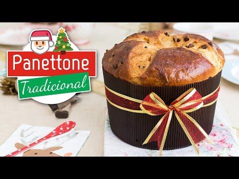 Panettone tradicional, Pan de Pascua o Pan dulce | Recetas de Navidad | Quiero Cupcakes!