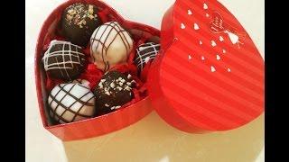 Receta Chocolates para el 14 de Febrero, dia del amor y amistad