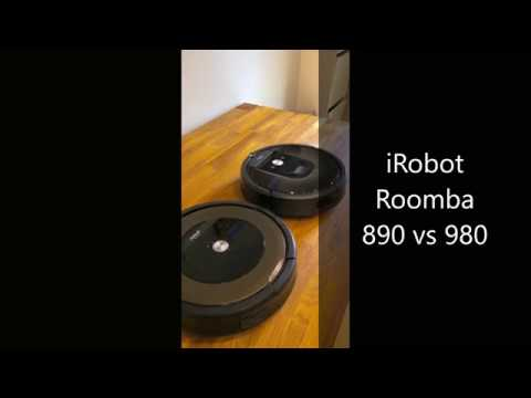 iRobot Roomba 890 vs 980 Navigation Comparison