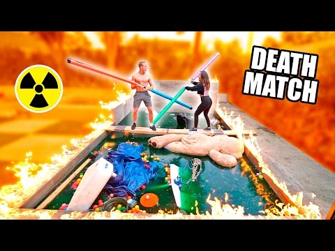 Thumbnail: GLADIATOR DEATHMATCH OVER OUR TOXIC POOL (Don't Fall In)