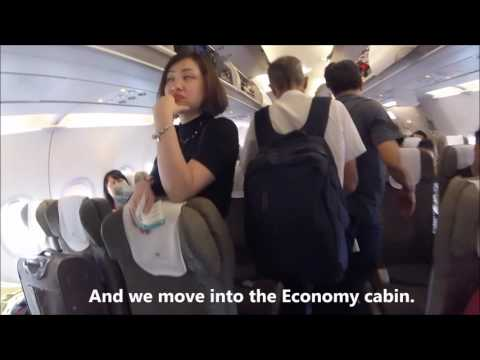 Boarding Vietnam Airlines Airbus A321 Singapore to Hanoi Flight