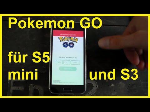 Pokémon Go mit Galaxy S5 Mini spielen - Pokemon für S5 mini S3 Amazon Fire installieren