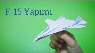 Kağıttan F-15 Yapımı [Origami]