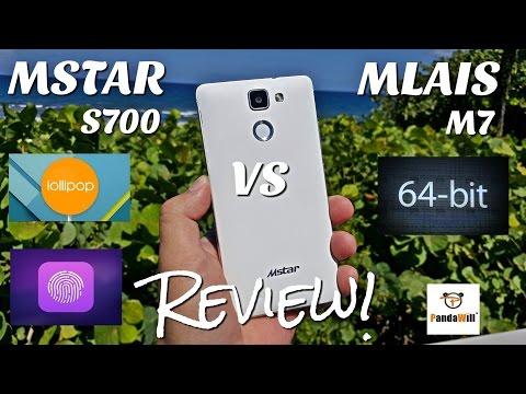 """MSTAR S700 VS MLAIS M7 - [Full Review] - MTK6752 - Fingerprint - 5.0 OS - 4G LTE - 5.5"""" HD - 2600mAH"""