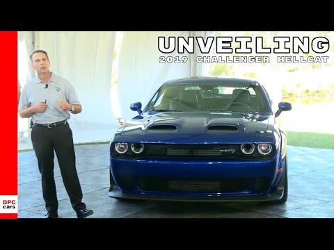 2019 Dodge Challenger SRT Hellcat Redeye Widebody Unveiling