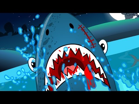 Scary Flying Shark | Nursery Rhymes | Scary Videos For Kids | Children Rhymes