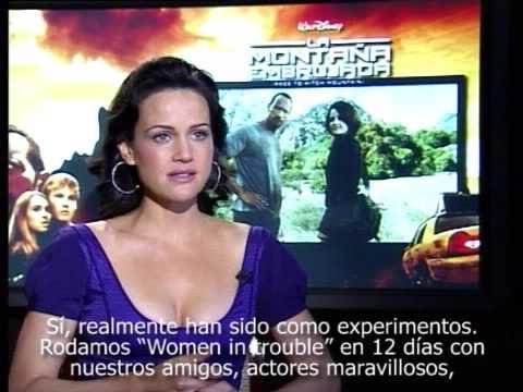 """La Montaña Embrujada"": Carla Gugino"