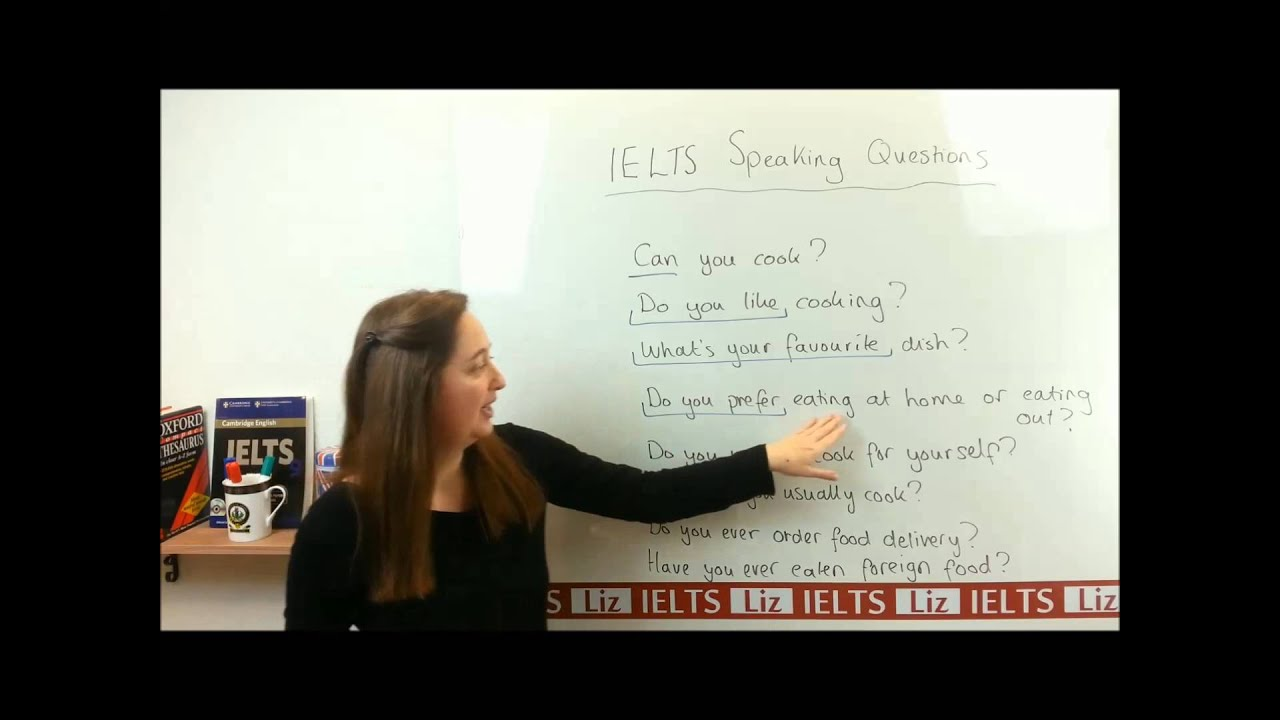 Common Questions for IELTS Speaking Part 1