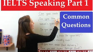 IELTS Speaking Part 1: Common Questions