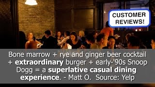 Best Restaurant Reviews! Au Cheval - Chicago, IL - REVIEWS