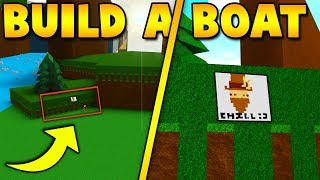 *NEW* CHILLTHRILL PAINTING!   Build a boat For Treasure ROBLOX