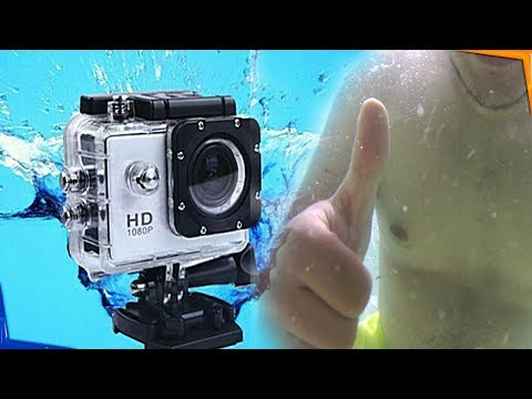 V3 4K WiFi Sport Camera review ارخص كاميرا احترافية تصور تحت الماء