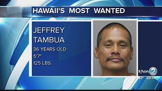 Hawaii's Most Wanted: Jeffrey Tambua