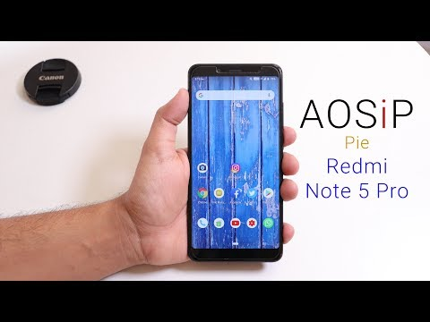 AOSiP Pie On Redmi Note 5 Pro || How Good Is It? - YouTube