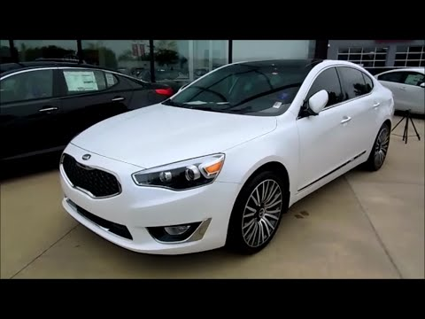 2015 Kia Cadenza Premium Luxury Sunroof Amp Technology