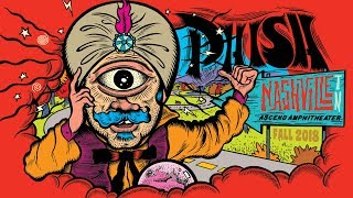 Phish: Live in Nashville, TN 10/24/18