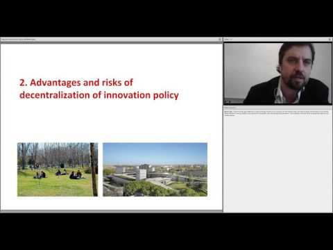 Regional Innovation Policy and Multilevel Governance in Developing Countries