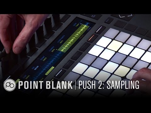 Ableton Push 2: Sampling From Vinyl