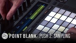Ableton Push 2: Sampling from Vinyl