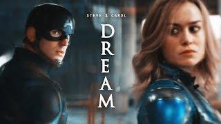 ❖ Steve Rogers & Carol Danvers | Dream (AU)