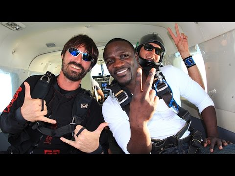 Akon's 'Best Skydive Yet' with Skydive Dubai