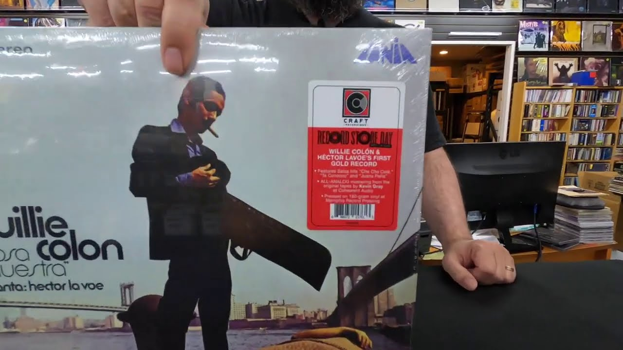 Willie Colon - Cosa Nuestra - Unboxing Record Store Day 2020 RSD Drop 2 Sep