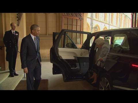 Barack Obama pays tribute to the Queen
