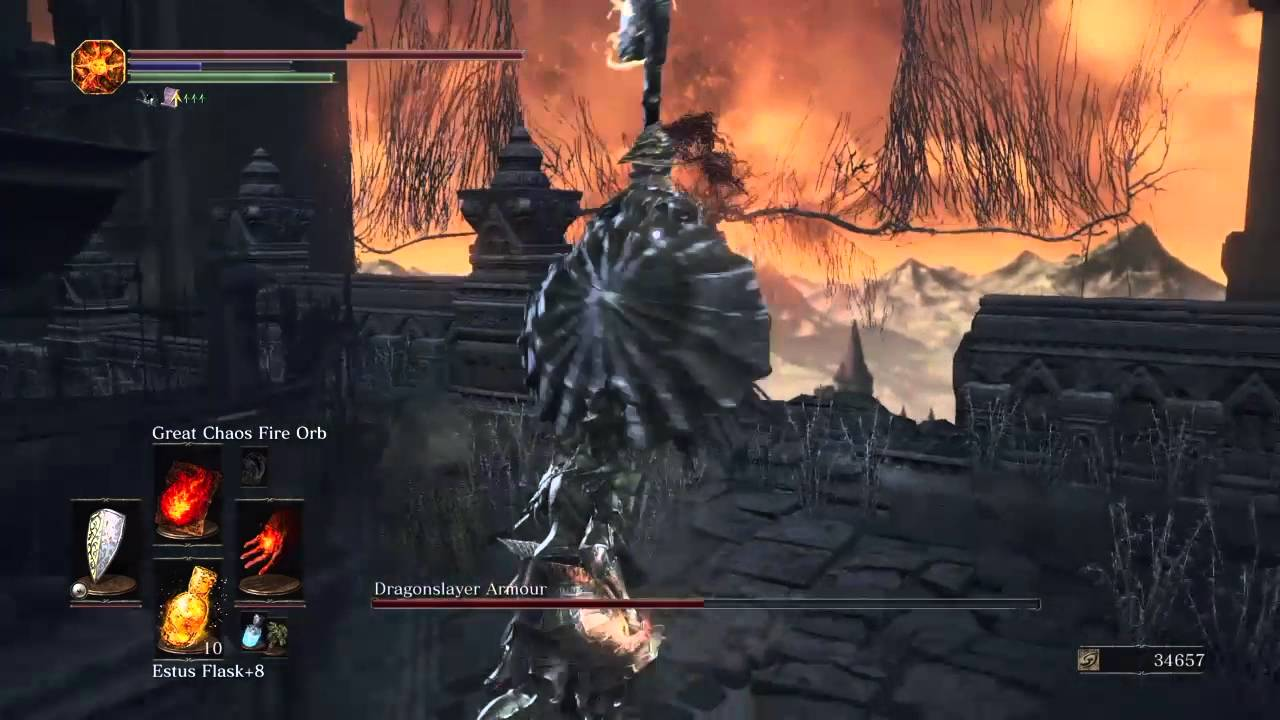 how to get to dragonslayer armor dark souls 3