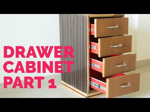 Storage cabinet with drawers – Part 1