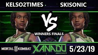 F@x 303 Mortal Kombat 11   Kelso2times (jacqui) Vs. Skisonic (jacqui)   Mk 11 Losers Quarters