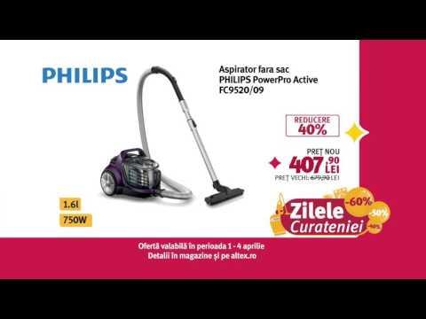 Reclamă ALTEX - Philips Zilele Curățeniei