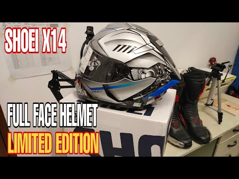REVIEW || SHOEI LIMITED EDITION FULL FACE HELMET || BIKERS LIFE